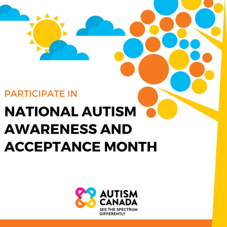 Autism Awareness Month Canada:  Living in the Eye